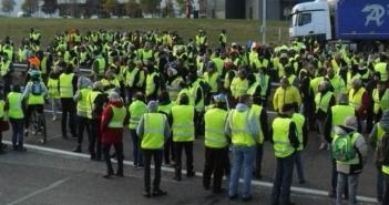 gele hesjes protest