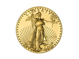 gouden munt eagle