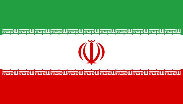 iran vlag olie