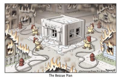 reddingsplan bank
