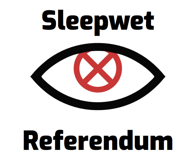 sleepwet logo referendum