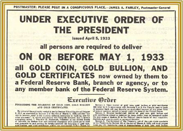 under-executive-order-of-the-president